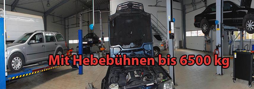 Auto-Team Dinslaken Süd mit Hebebühnen bis 6500 kg